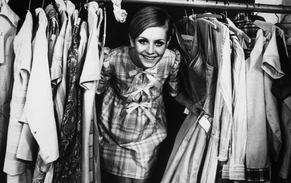 Twiggy magasin dressing room